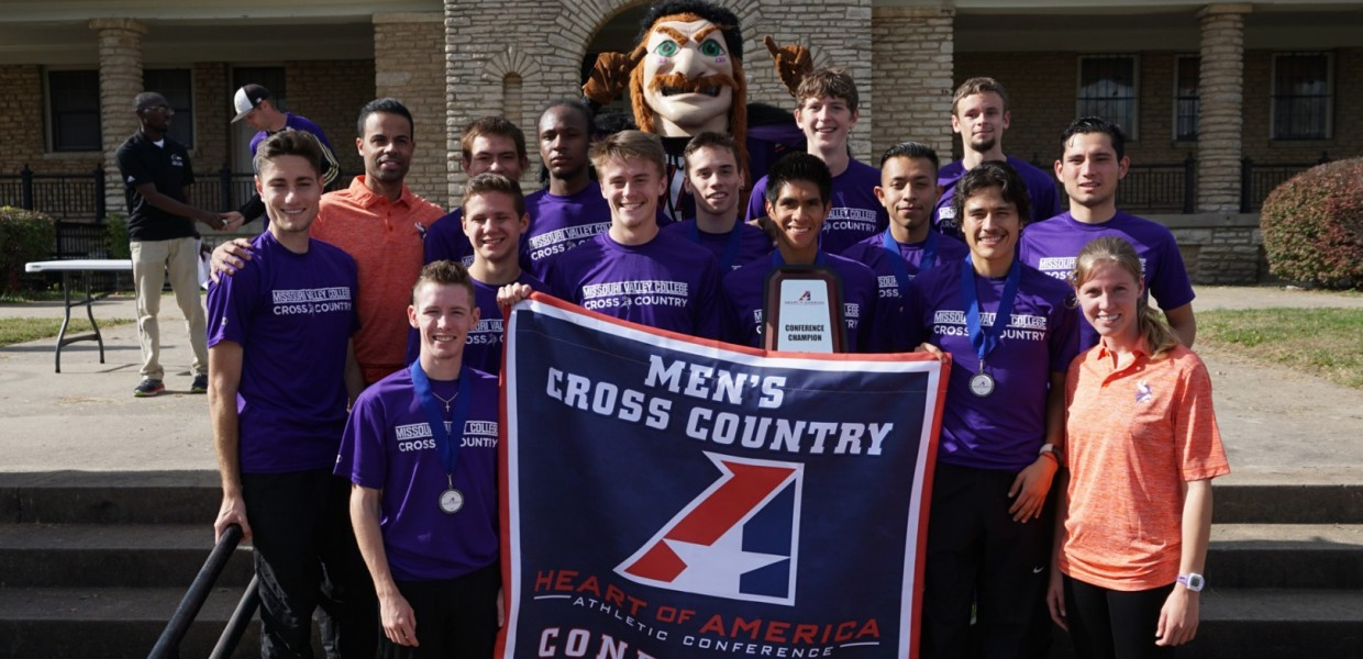 Photo for Viking Men's Cross Country Captures Heart Championship