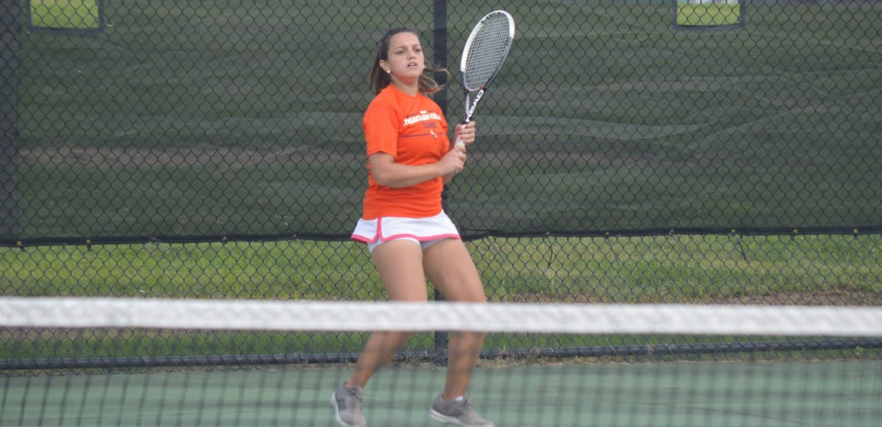 Photo for Lilian Blasque Leads Tennis All-Conference Awards as Player of the Year