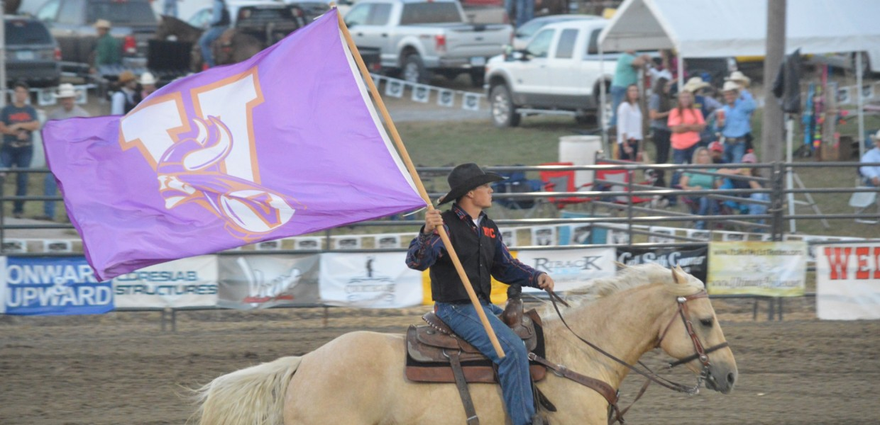 Photo for Viking Rodeo Teams Finish Competition at CNFR