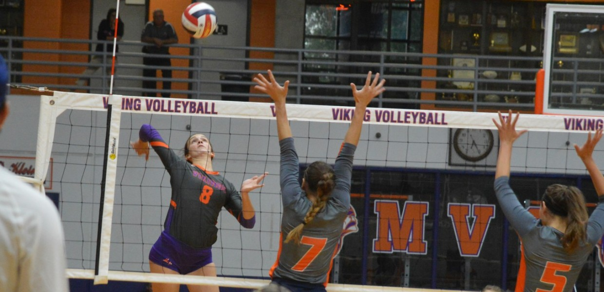 Photo for Women's Volleyball Sweeps Avila on the Road