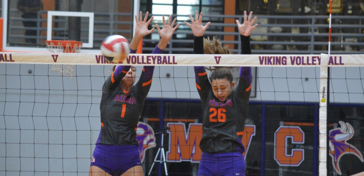 Photo for Women's Volleyball Beats Benedictine in Four Games