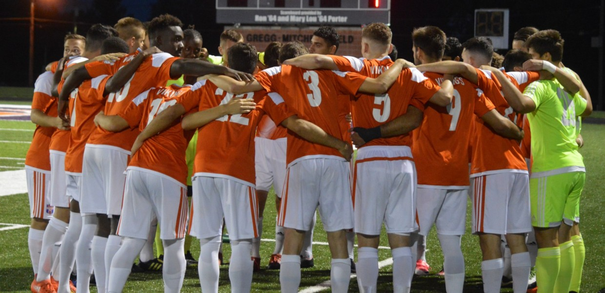 Photo for Men's Soccer Stays at No. 3 Spot in Latest Coaches' Poll