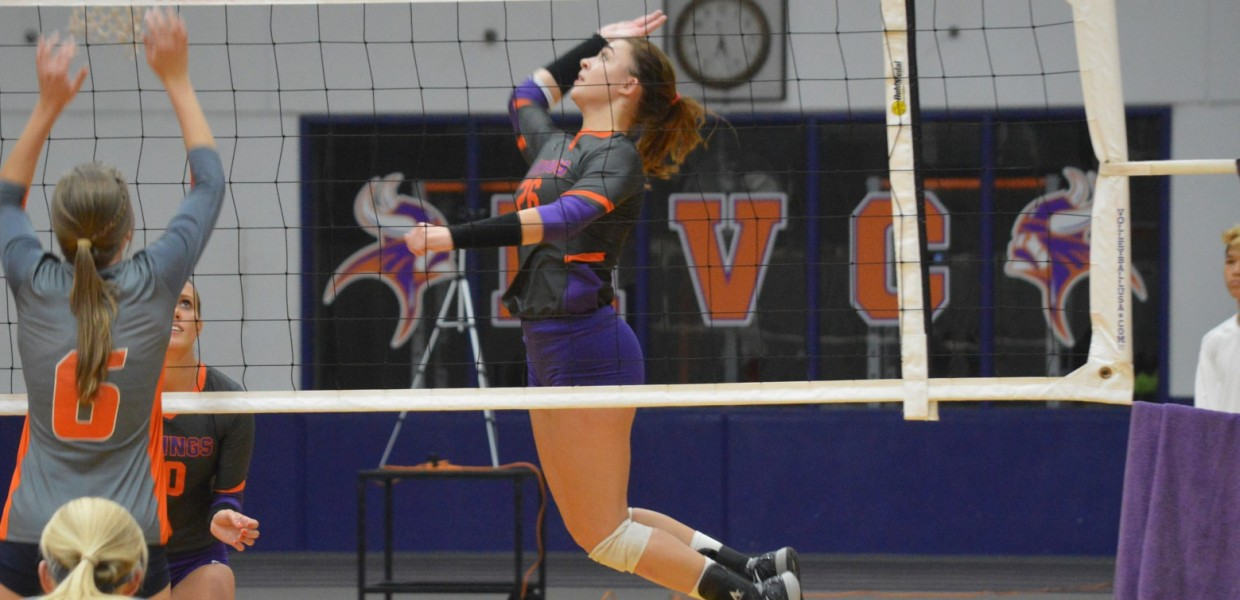 Photo for No. 22 Women's Volleyball Sweeps Peru State