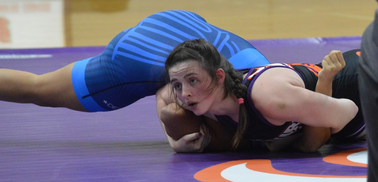 Women's Wrestling Defeats St  Mary and MacMurray on Senior