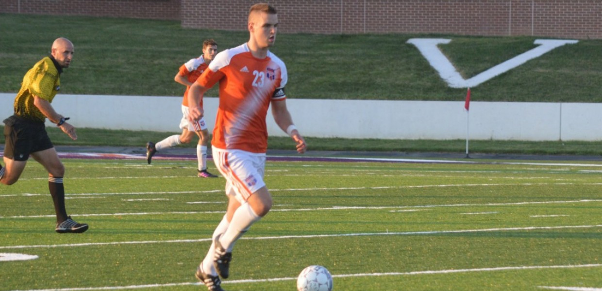 Photo for Men's Soccer Student-Athlete Earns Weekly Heart Honor