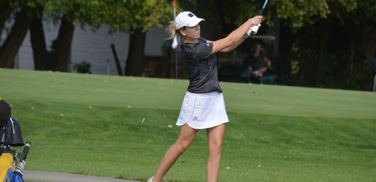 Photo for Viking Women's Golf Closes Fall at Baker Fall Preview