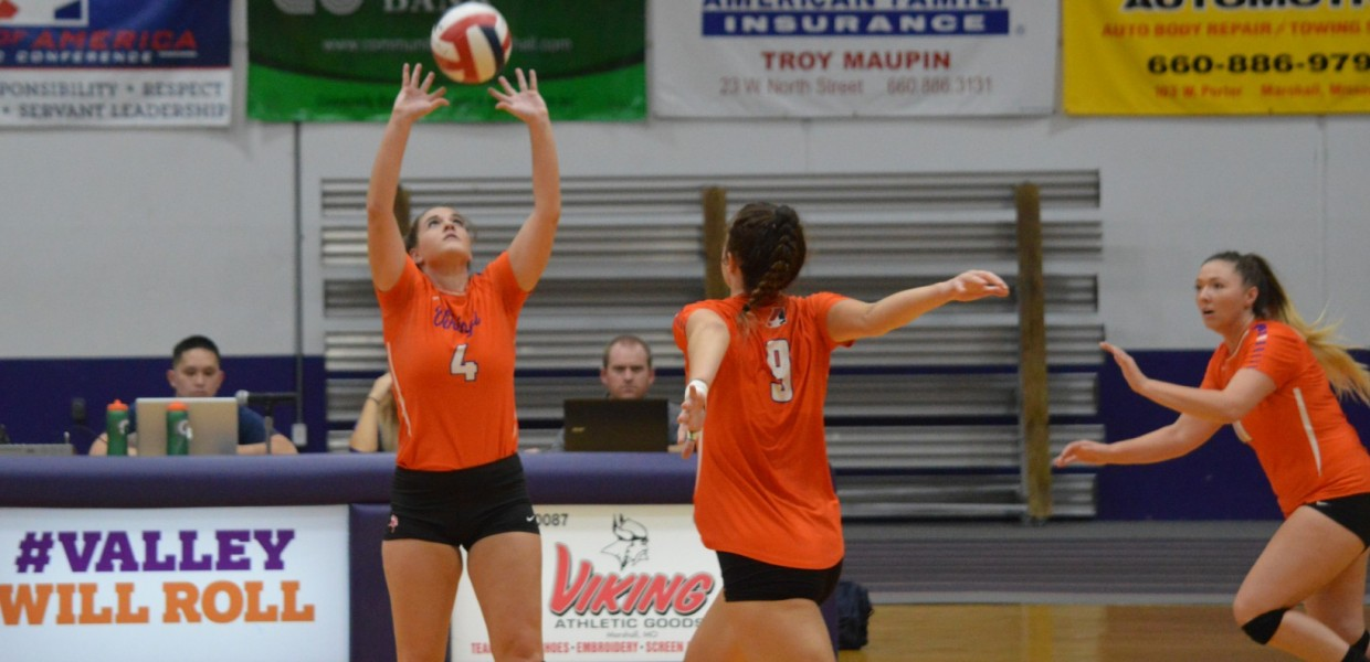 Women S Volleyball Falls In Four Games At Peru State Missouri Valley College