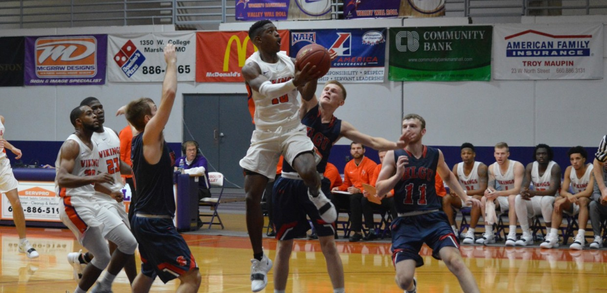 Basketball Splits at William Woods - Missouri Valley College