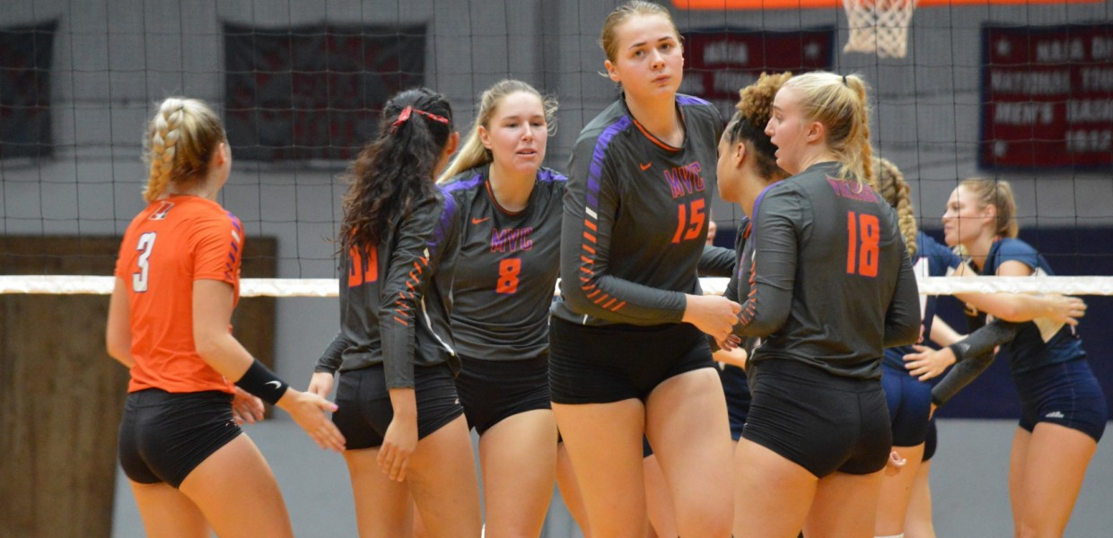 Women S Volleyball Falls To Peru State At Home Missouri Valley College